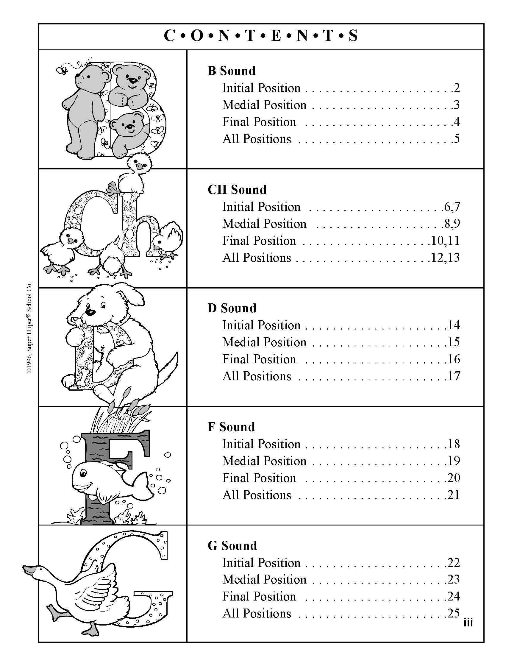 134 Sound-Loaded Scenes for Articulation: 20 Sounds plus Blends Book by  Super Duper Staff (1996) Paperback: Amazon.co.uk: 9781586500542: Books