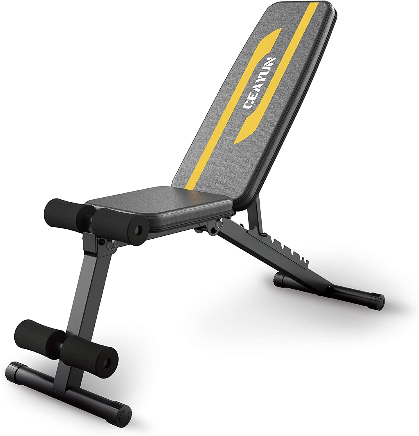 Adjustable Weight Bench, Strength Training Bench for Full Body Workout & Home Gym