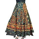 jwf Women's Cotton Skirts (Multicolour_Free Size)