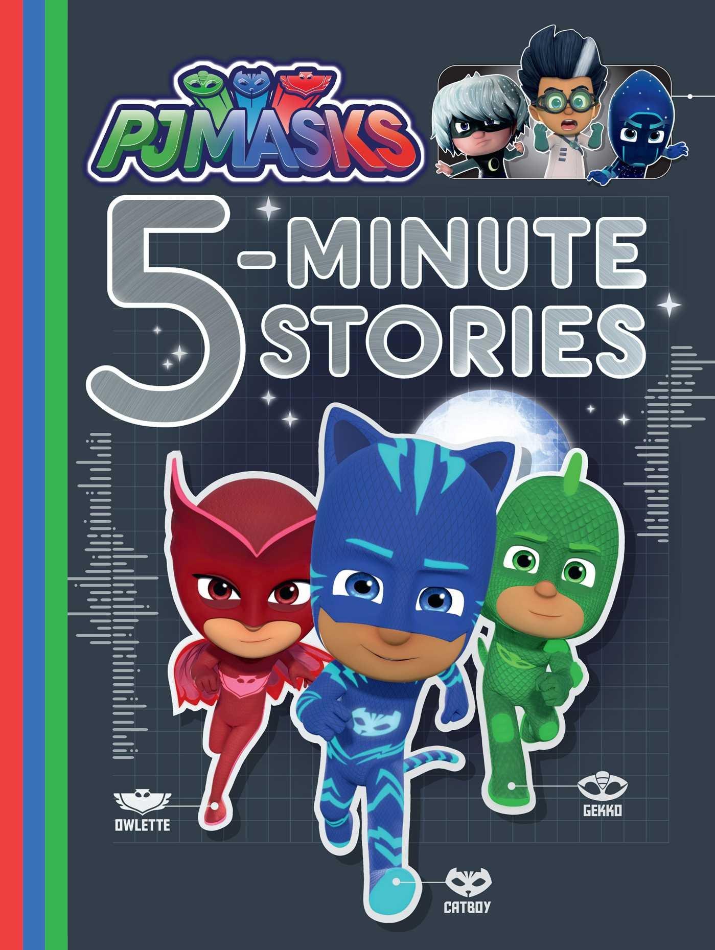 Pj Masks 5-Minute Stories : Various: Amazon.es: Libros