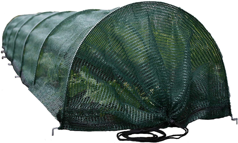 Tierra Garden 50-5020 Haxnicks Easy Shade Net Tunnel Garden Cloche, Giant