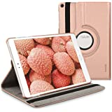 kwmobile Case 360° for Asus ZenPad 3S 10 Case with stand - protective tablet cover with standing function in rose gold