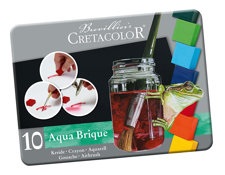 Cretacolor Aqua Brique Watercolor Set Of 10,Multi SAVOIR-FAIRE 415 10