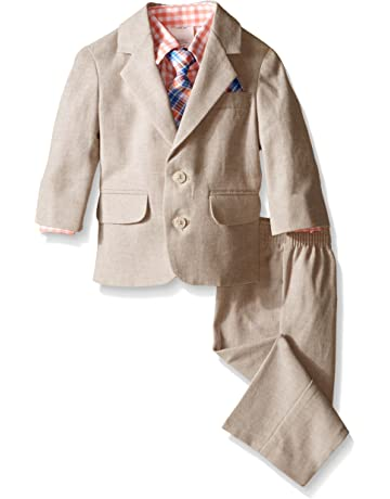 57534179ec4 Nautica Baby Boys 4-Piece Suit Set with Dress Shirt