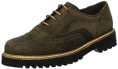 Gabor Shoes Comfort Sport, Zapatos de Cordones Derby para Mujer, Multicolor (Anthr/Schw S.S/C), 42 EU