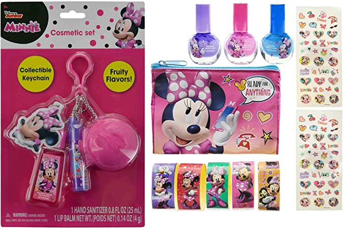 Mozlly Value Pack – Disney Junior Minnie Mouse Bowtique Llavero de ...