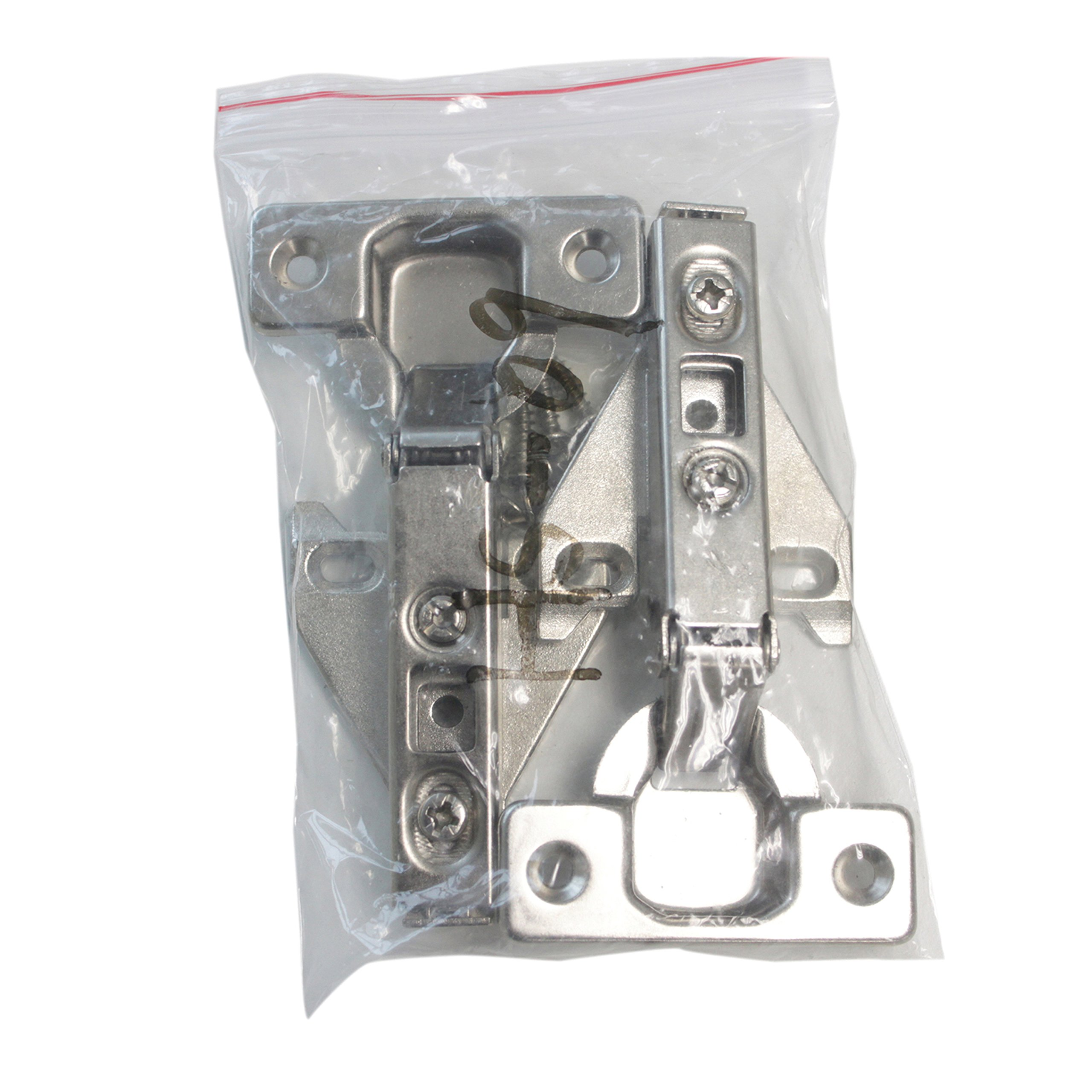 50 pairs Face Frame Concealed Kitchen Cabinet Door Hinges Full Overlay by Home Building Store (Image #4)