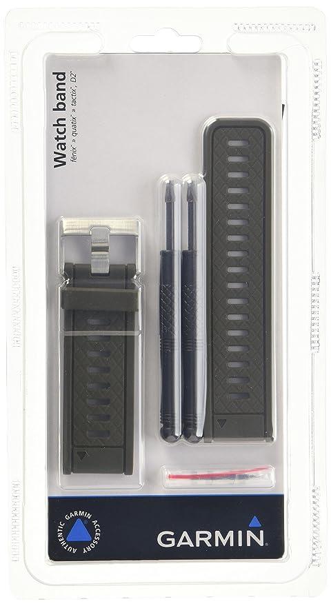 Garmin 010-11814-05 - Correa de silicona para relojes Fenix 2 y Quatix