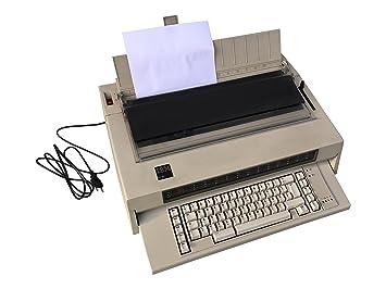 Poco Común IBM 6746 Máquina de escribir (tipos Rueda) como modelo 6747: Amazon.es: Oficina y papelería