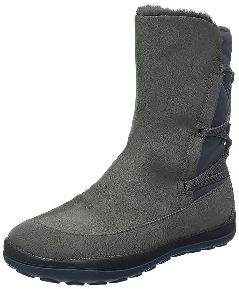 Camper Peu Pista, Botas altas para Mujer, Gris (Medium Gray 030),