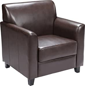 Flash Furniture HERCULES Diplomat Series Brown Leather Chair