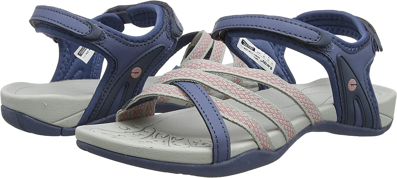 Hi-Tec Womens Savanna II Walking Shoes Sandals Blue Sports Outdoors Breathable