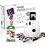 Instax Mini 8 Camera with 10 Shots - White