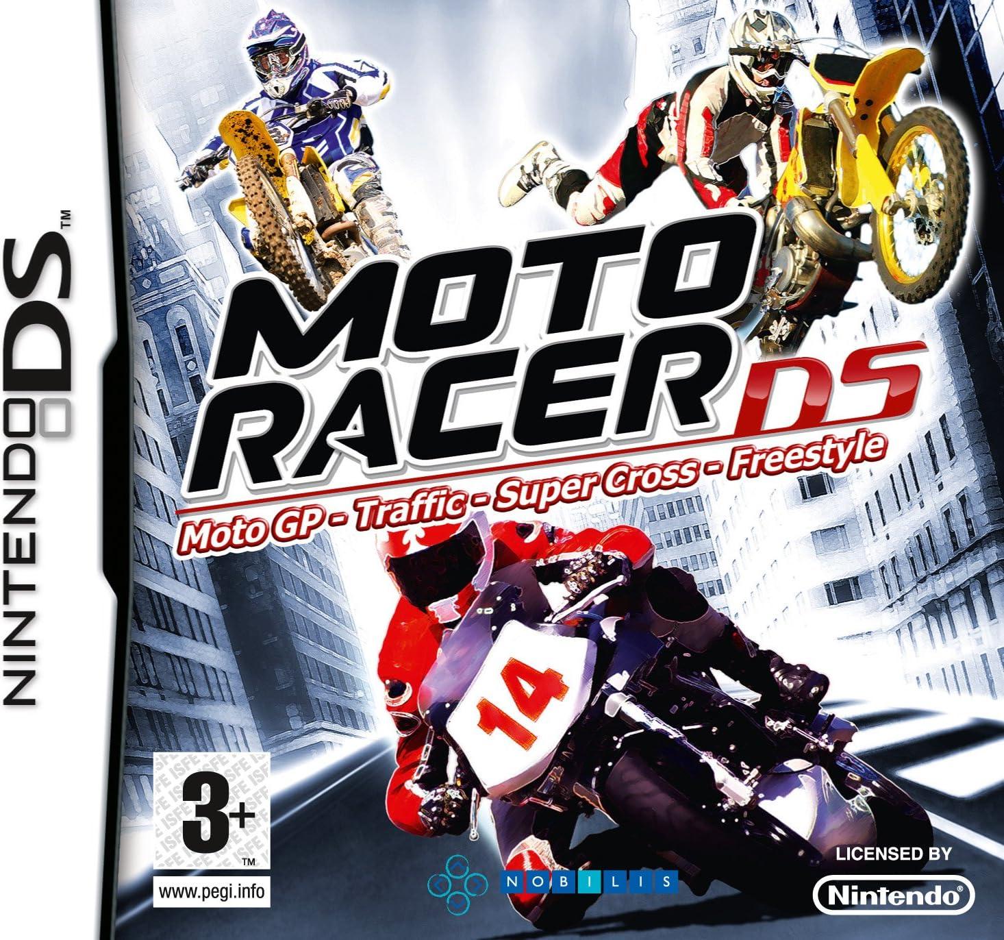 MOTO RACER / Nintendo DS Juego EN ESPANOL Compatible Nintendo DS LITE-DSI-3DS-2DS-3DS XL-2DS XL ** ENTREGA 2/3 DÍAS LABORABLES + NÚMERO DE SEGUIMIENTO **: Amazon.es: Videojuegos