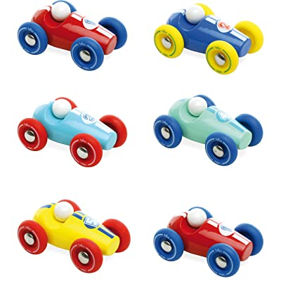 Vilac Push Along Mini Race Car : Push And Pull Baby Toys : Baby