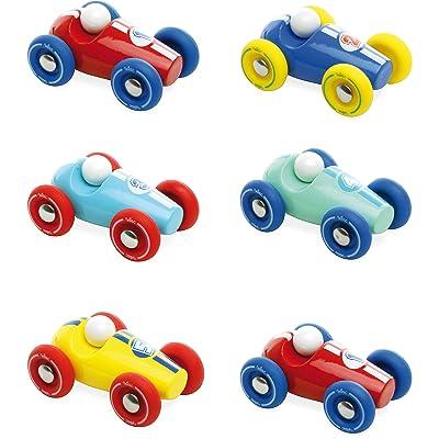Vilac Push Along Mini Race Car : Push And Pull Baby Toys : Baby [5Bkhe1001005]
