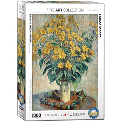 EuroGraphics Jerusalem Artichoke by Claude Monet 1000 Piece Puzzle: Toys & Games