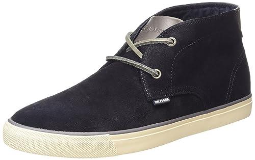 Tommy Hilfiger Wilshire 3B, Zapatillas para Hombre, BLU (403), 42 EU: Amazon.es: Zapatos y complementos
