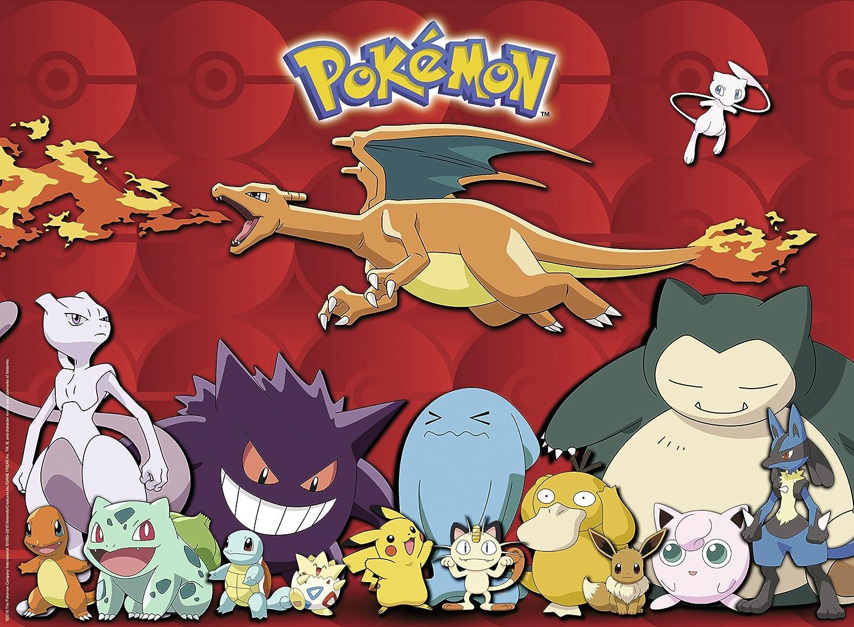 Uncategorized Pokemon Jigsaw Puzzle ravensburger pokemon xxl 100pc jigsaw puzzle amazon co uk toys games