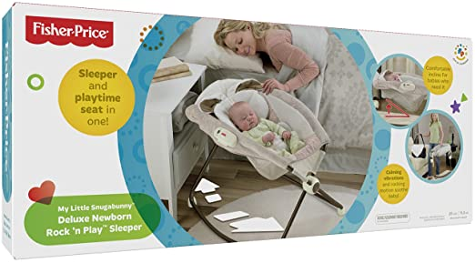 9a5d2d64f506 Amazon.com   Fisher-Price Deluxe Rock  n Play Sleeper