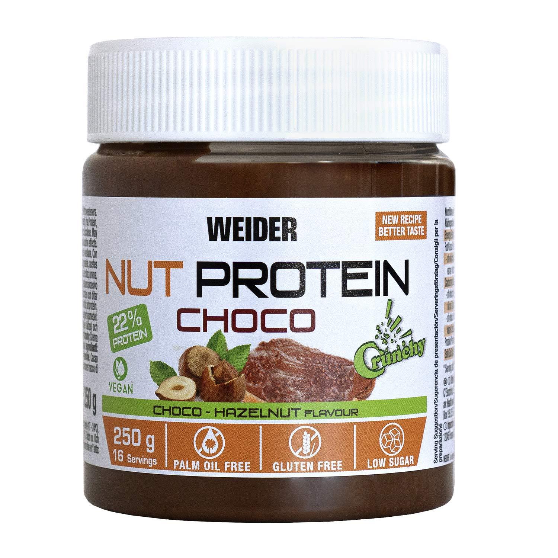 Weider Whey Protein Spread 250 g, Crema de Avellanas con 22% de ...