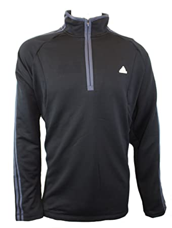 adidas quarter zip. adidas arctic quarter zip jacket black xl