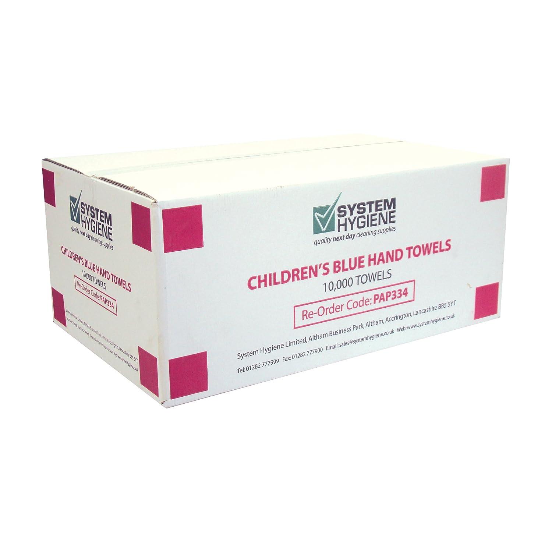 Sistema higiene azul 1ply Toallas de papel de mano de los niños - caso de 10.000: Amazon.es: Industria, empresas y ciencia
