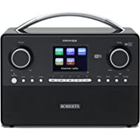 Roberts Radio Stream93i DAB/DAB+/FM Internet Stereo Sound System with 3 Way Speaker System (Certified Refurbished)