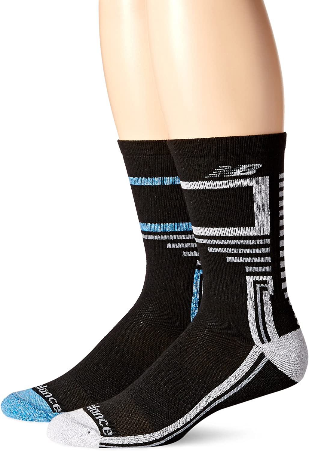 6 Pair New Balance Performance Training Crew Socks