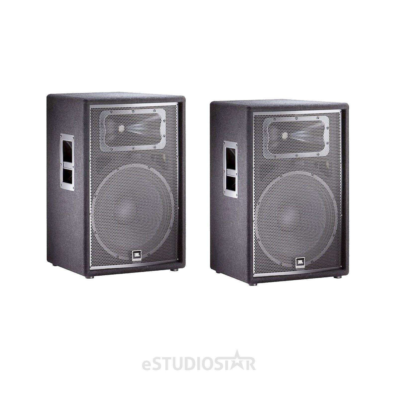 JBL JRX215 15' Passive Two-Way Speaker Pair PA Package by JBL