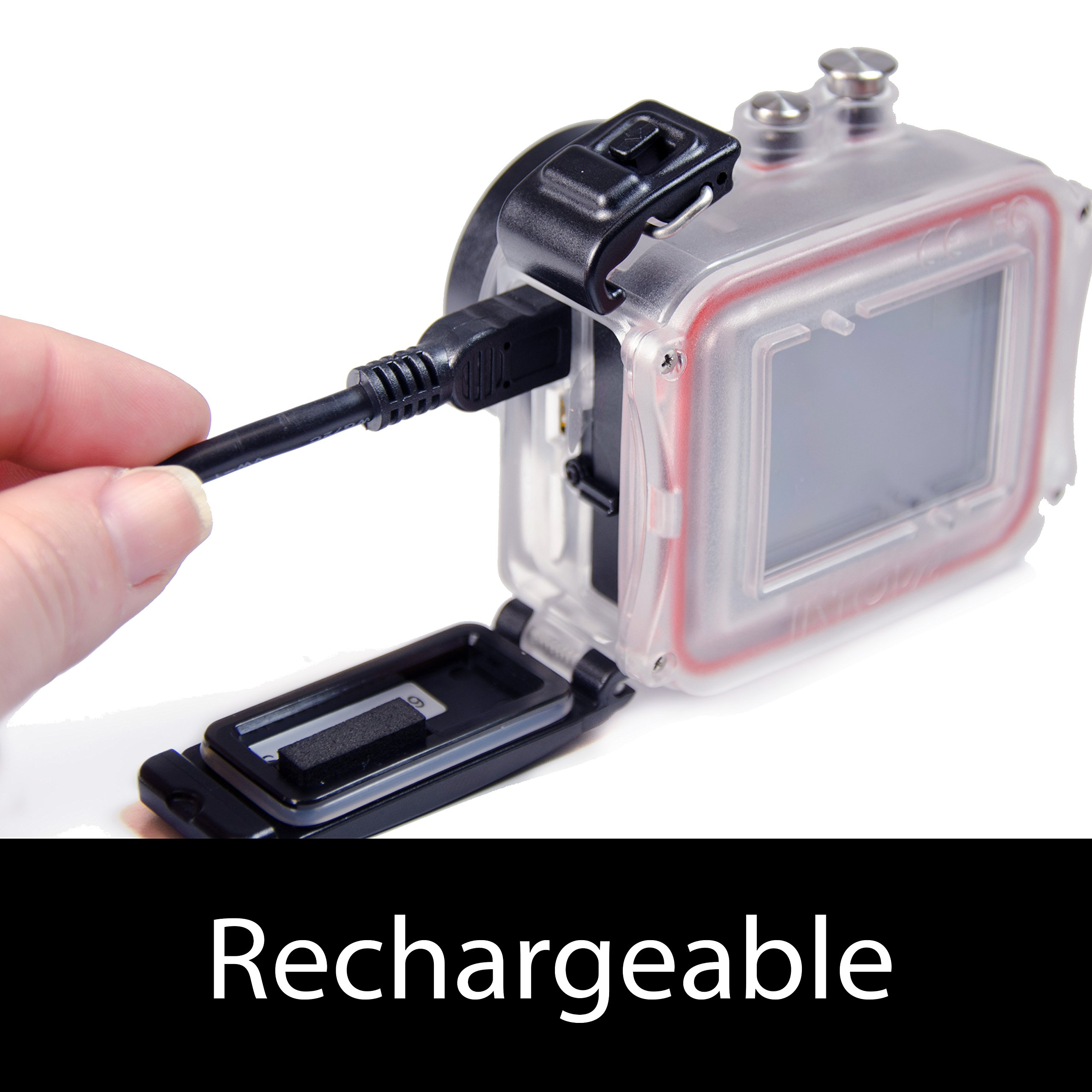 Intova HD2 Waterproof 8MP Action Camera with Built-in 150-Lumen Light and Remote Control by Intova (Image #5)