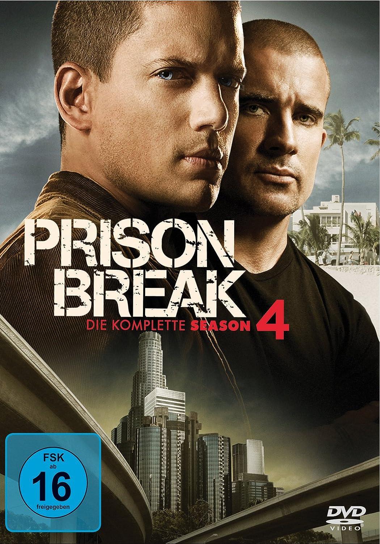 Prison Break - Die komplette Season 4 Alemania DVD: Amazon.es ...