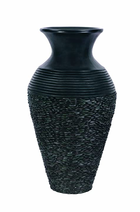 Atlantic Water Gardens Pebble Pot Fountain, 43 Inch