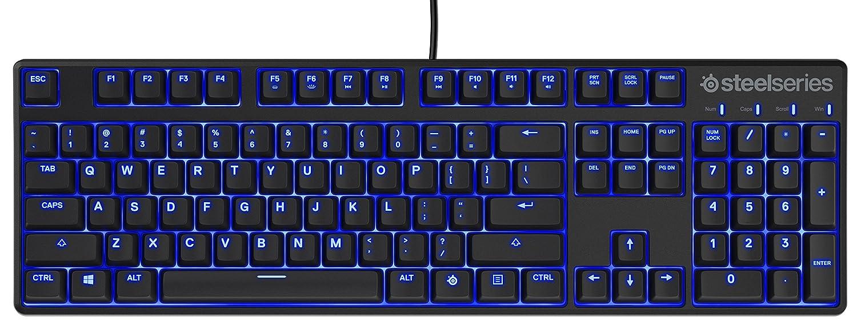 Aluminum Frame SteelSeries 64726 Apex M750 TKL PUBG Edition RGB Tenkeyless Mechanical Gaming Keyboard RGB LED Backlit Linear /& Quiet Switch Discord Notifications