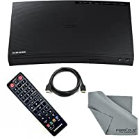 Samsung Wi-Fi & 3D Blu-Ray DVD Disc Player 1080p & Full HD Upconversion, Plays Blu-ray Discs, DVDs & CDs with Tmvel HDMI Cable