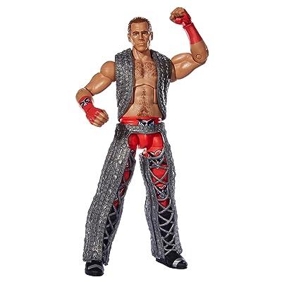 WWE WrestleMania Flashback Elite Shawn Michaels Action Figure: Toys & Games