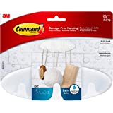 Command Bath Multi-Hook, 5-Pound Capacity, Organize your dorm