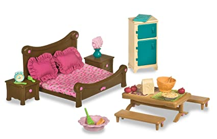 Li\'l Woodzeez Master Bedroom & Dining Set