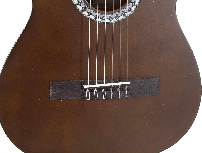 Gewapure Guitarra Clásica Basic 1/2 Color Nogal: Amazon.es ...