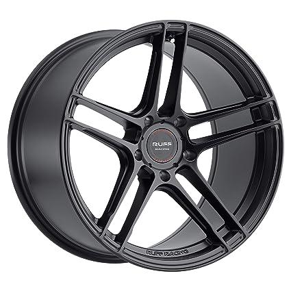 RUFF Racing RS1 18x8.5 5//112 ET43 CB66.56 Gloss Black