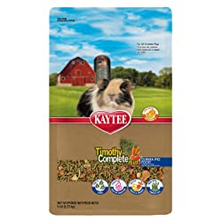 Kaytee Timothy Hay Complete Plus Fruits And Vegetables Guinea Pig Food
