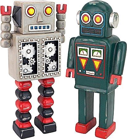 Design Toscano Retro Robot Collection Estatua, polirresina, Full Color, 25,5 cm: Amazon.es: Hogar