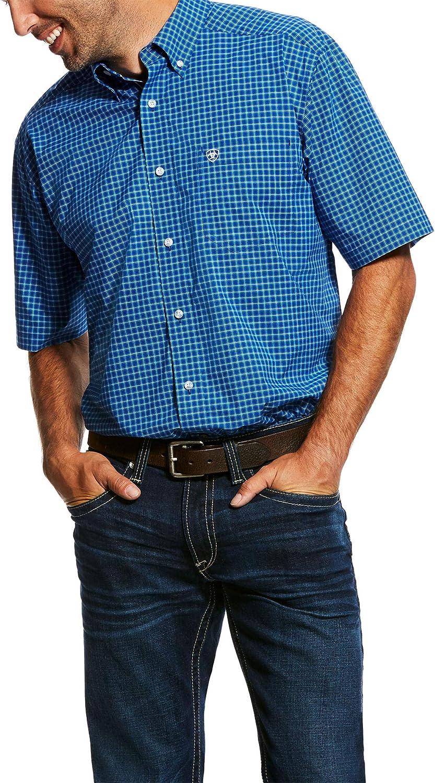 ARIAT Mens Naylon Stretch Performance Shirt