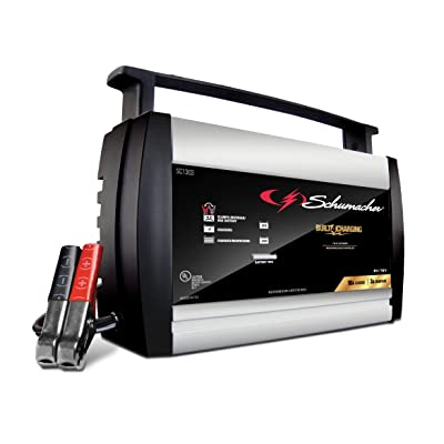 Schumacher SC1303 6/12V Fully Automatic Battery Charger and 10A Maintainer: Automotive