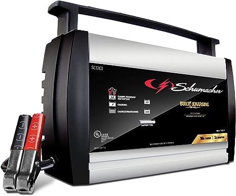 Amazon.com: Schumacher SC1303 - Cargador de batería ...
