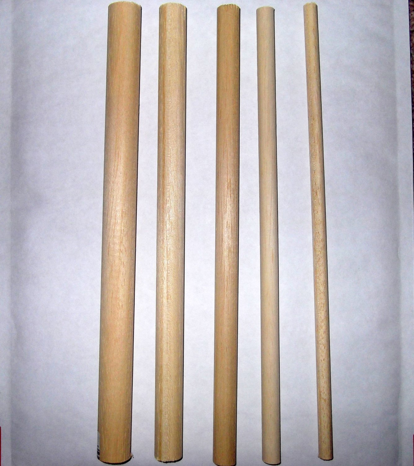 Craftmill Pack Of 3 Wooden Dowels 30Cm Long - Choose Your Width - Ideal For Craft, Hobbies, Diy, Sweet Trees, Kits (30Cm X 18Mm)