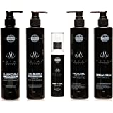 Royal Locks Complete Curly Hair Care and Styling Set | Pro Curl and Dream Cream Gels 10 Oz, Curl Revitalizing Spray 3.72 Oz,