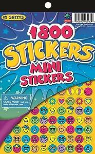 Eureka Mini Stickers for Teachers and Kids, 1800 pcs