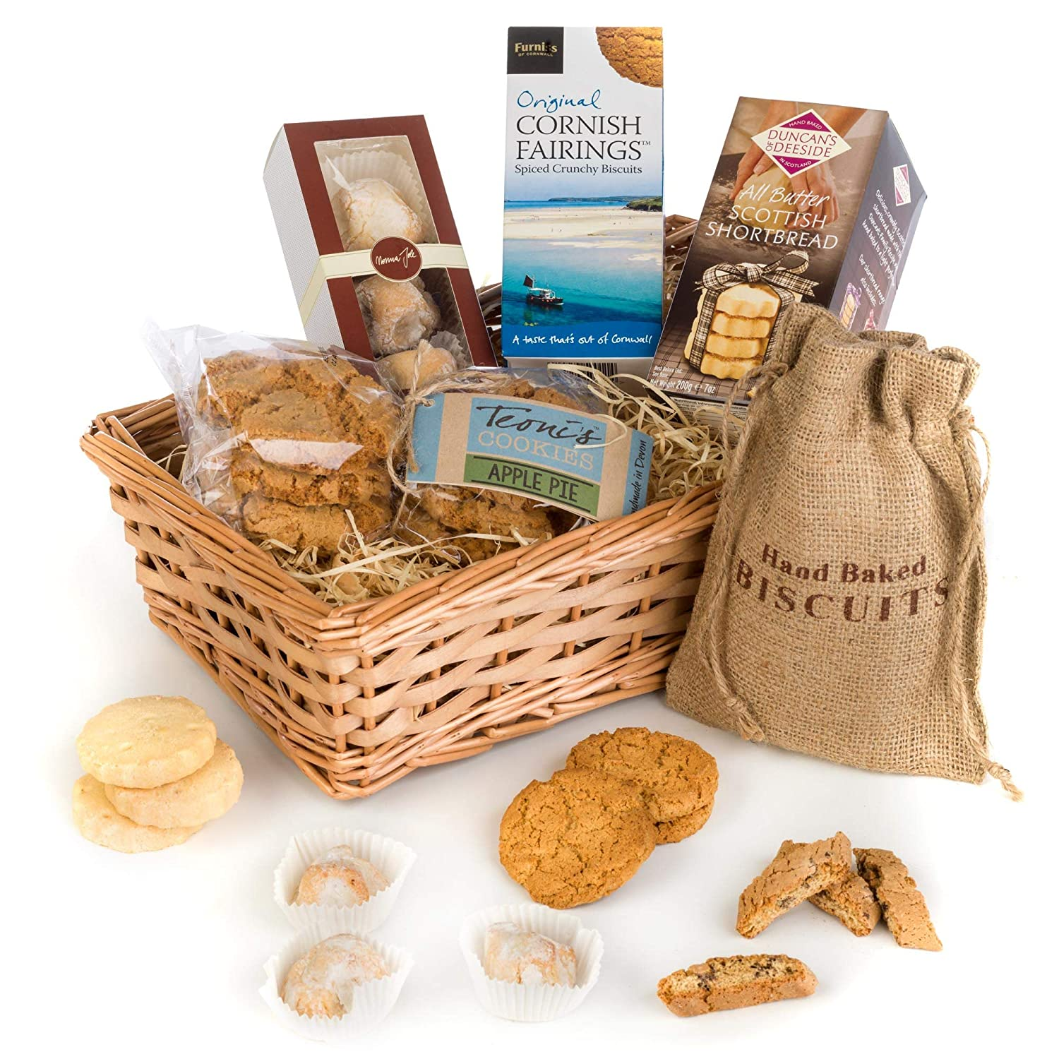 Hay Hampers Luxury Biscuit Selection Hamper Gift Box by Teacher