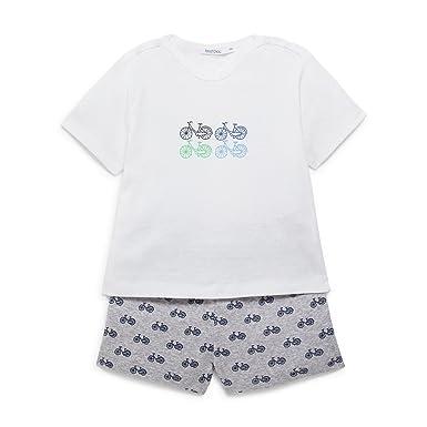231b06094391b Bout Chou - Pyjama imprimé vélo - Mixte bébé - Taille   18 Mois ...